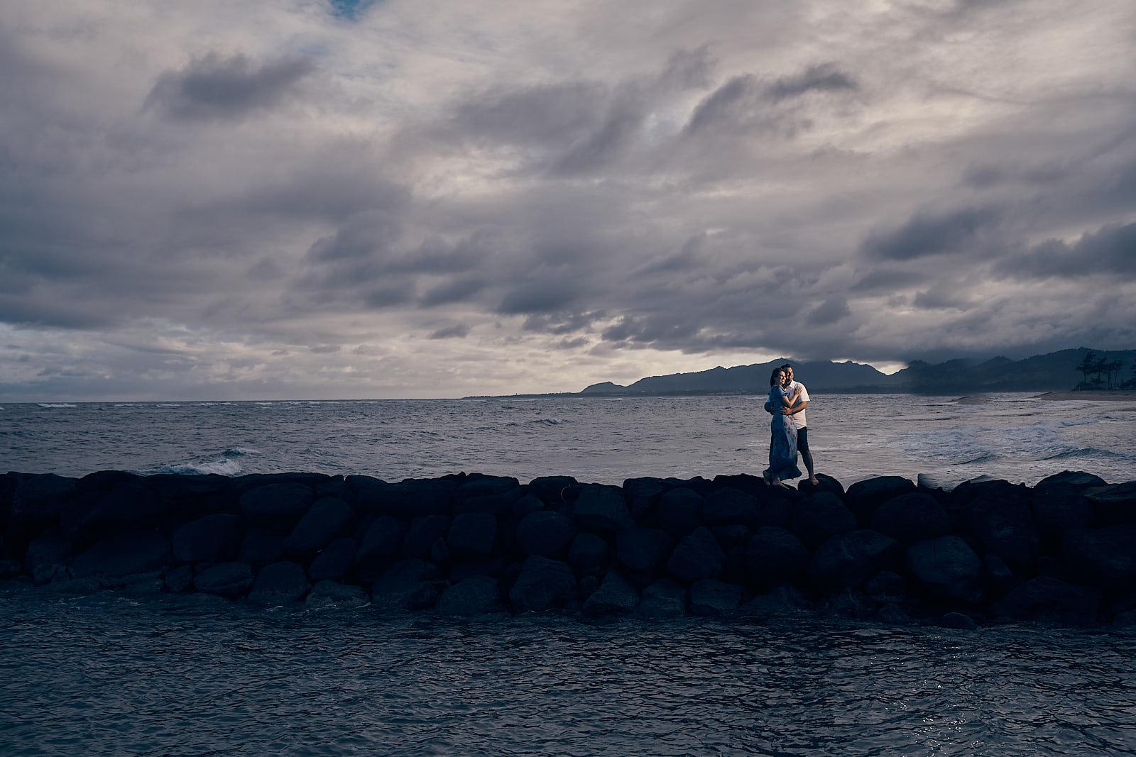 Engagement Photo Shoot Waipouli Beach Resort Kauai Location Afewgoodclicks