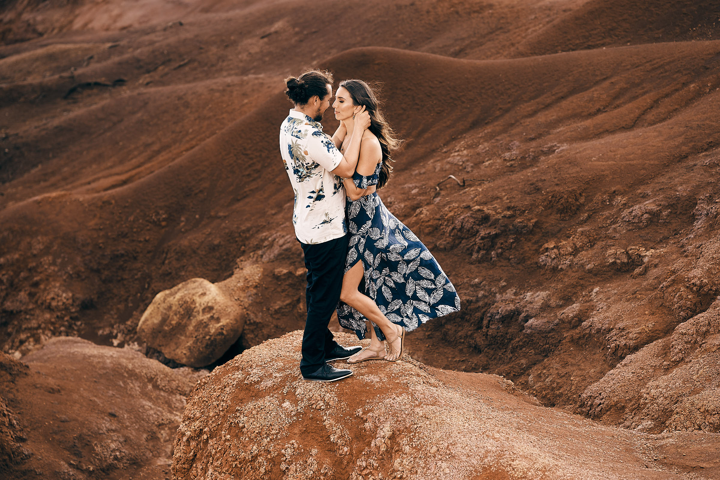 Red Dirt Falls Elopement Pictures