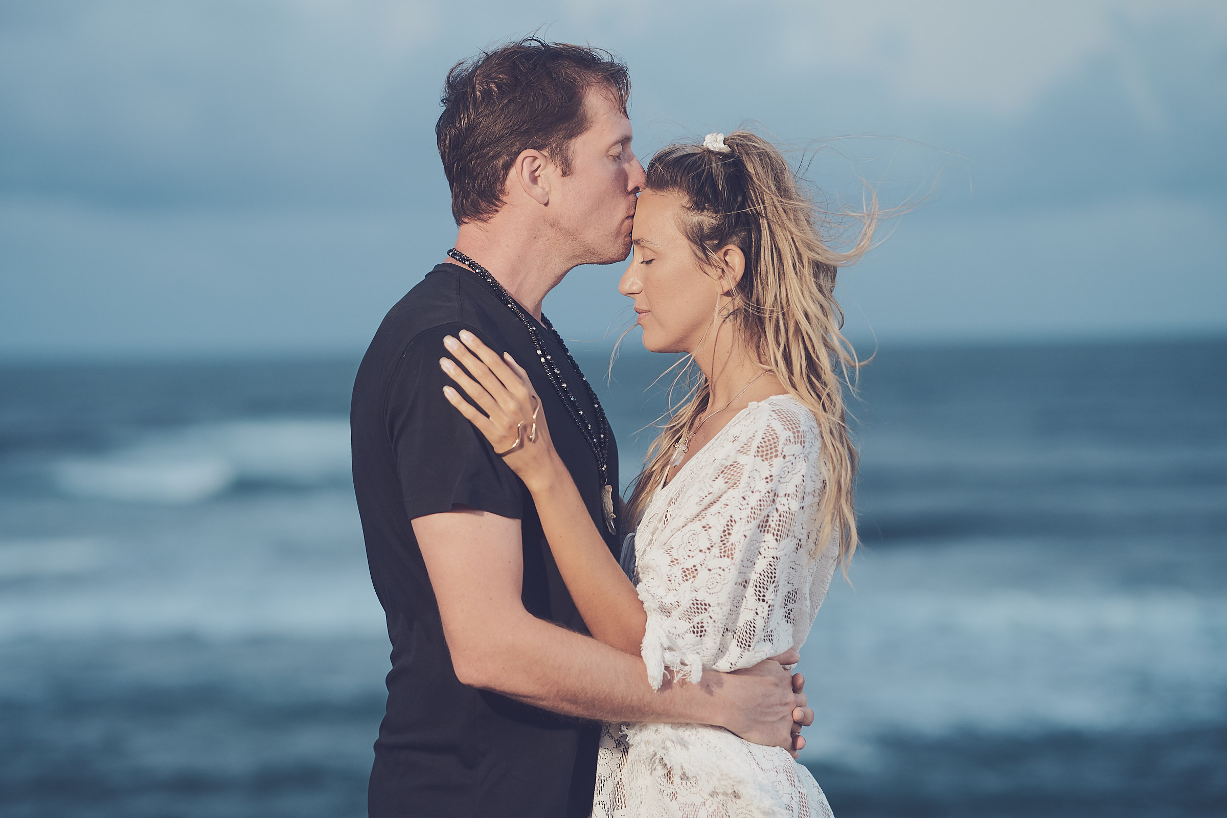 Cliff Engagement Photos In Hawaii