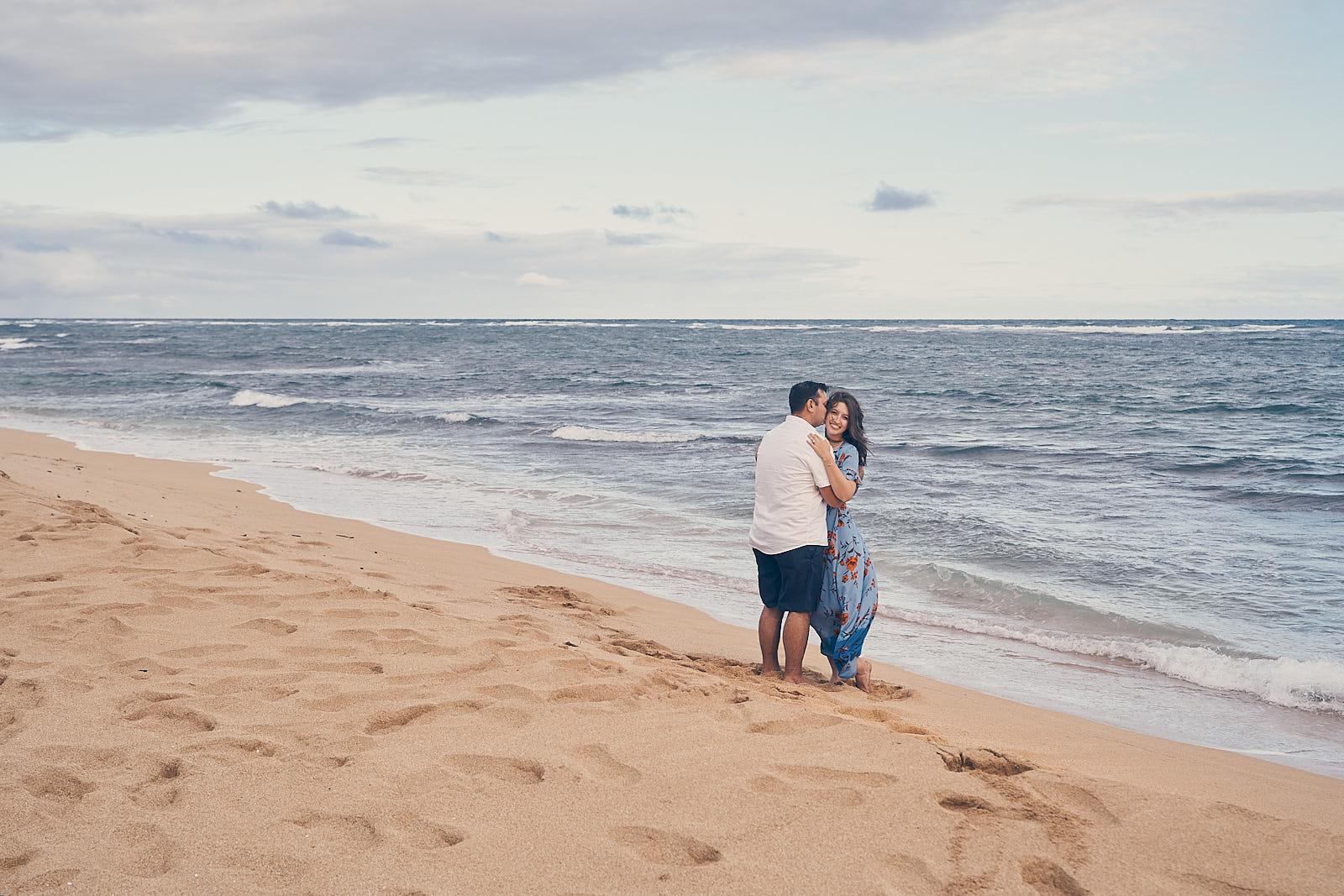 Engagement Photo Shoot Waipouli Beach Resort Kapaa Kauai