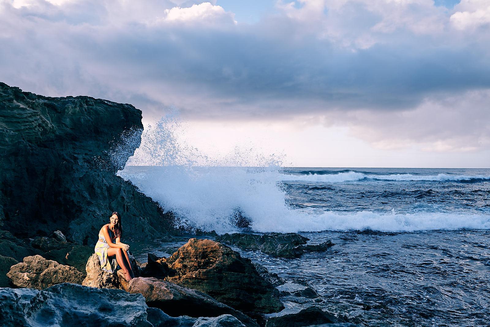 Kauai Portrait Photoshoot South Shore Afewgoodclicks