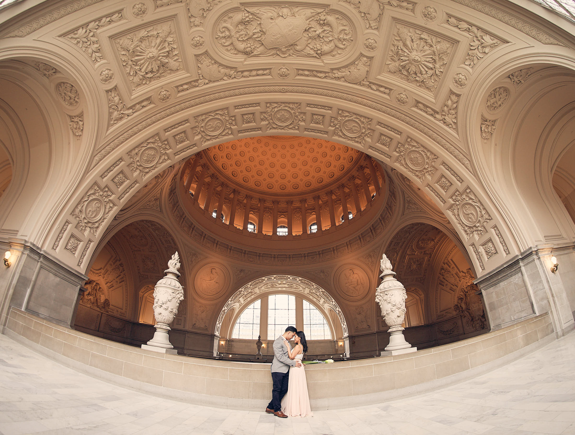 Sf City Hall Couples Photography
