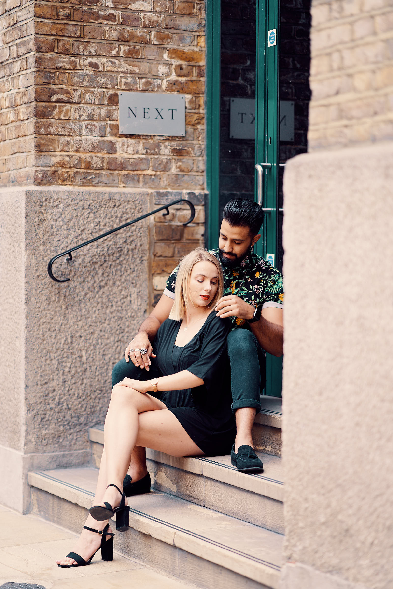 London Editorial Style Engagement Shoot By Afewgoodclicks