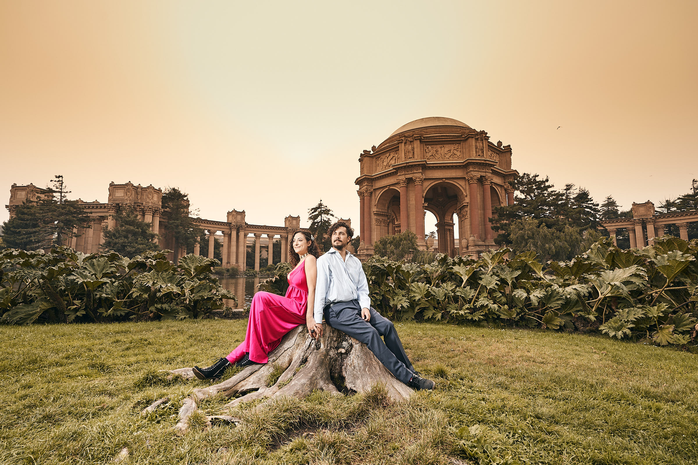 Best Engagement Photography At Palace Of Fine Arts San Francisco