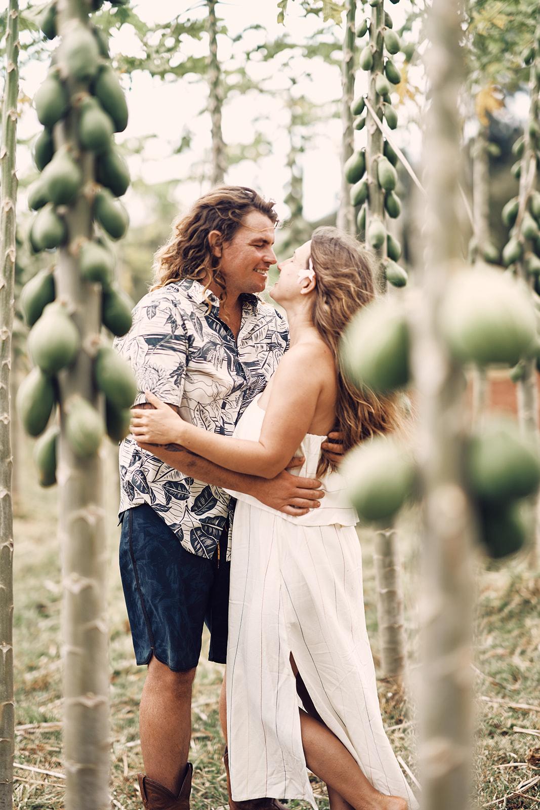 Kauai Farms Timbers Couples Photos