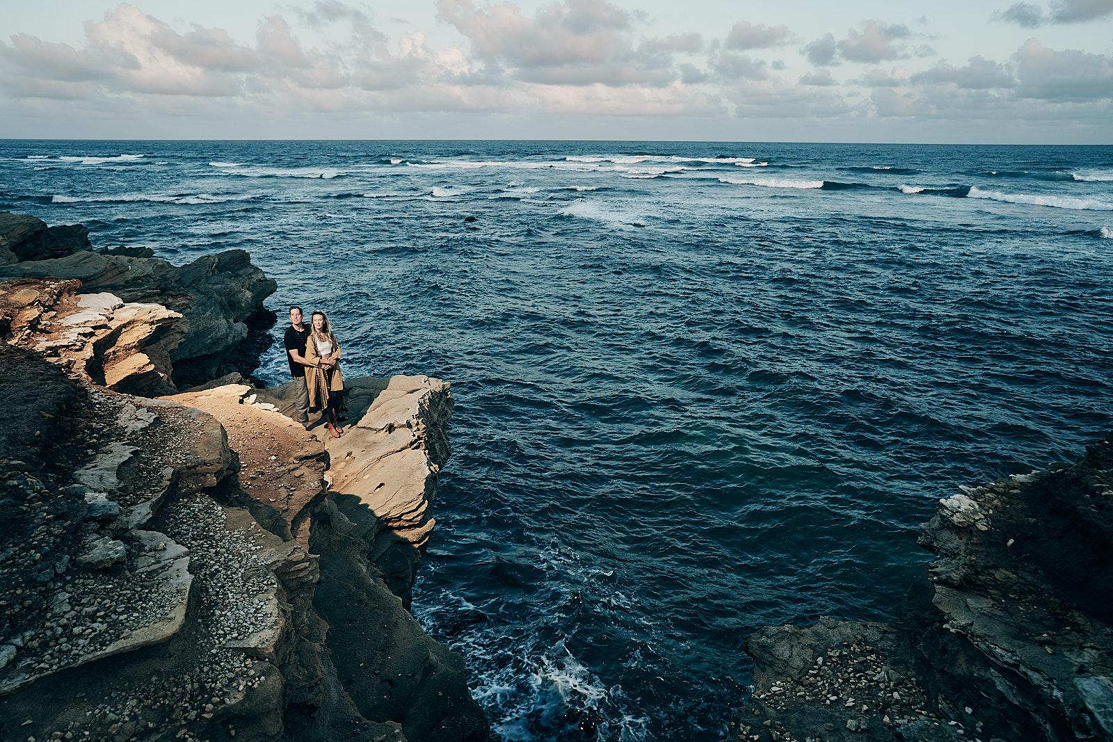 Timbers Kauai Engagement Photographer Running Waters Beach