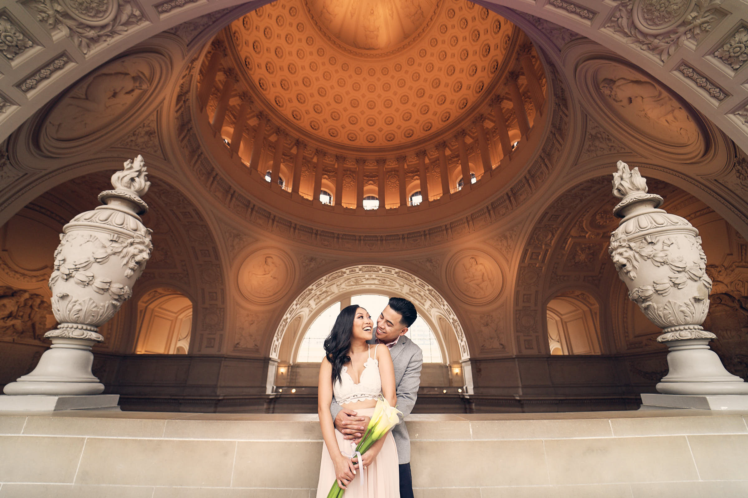 Best Engagement Photography Location Sf Cityhall