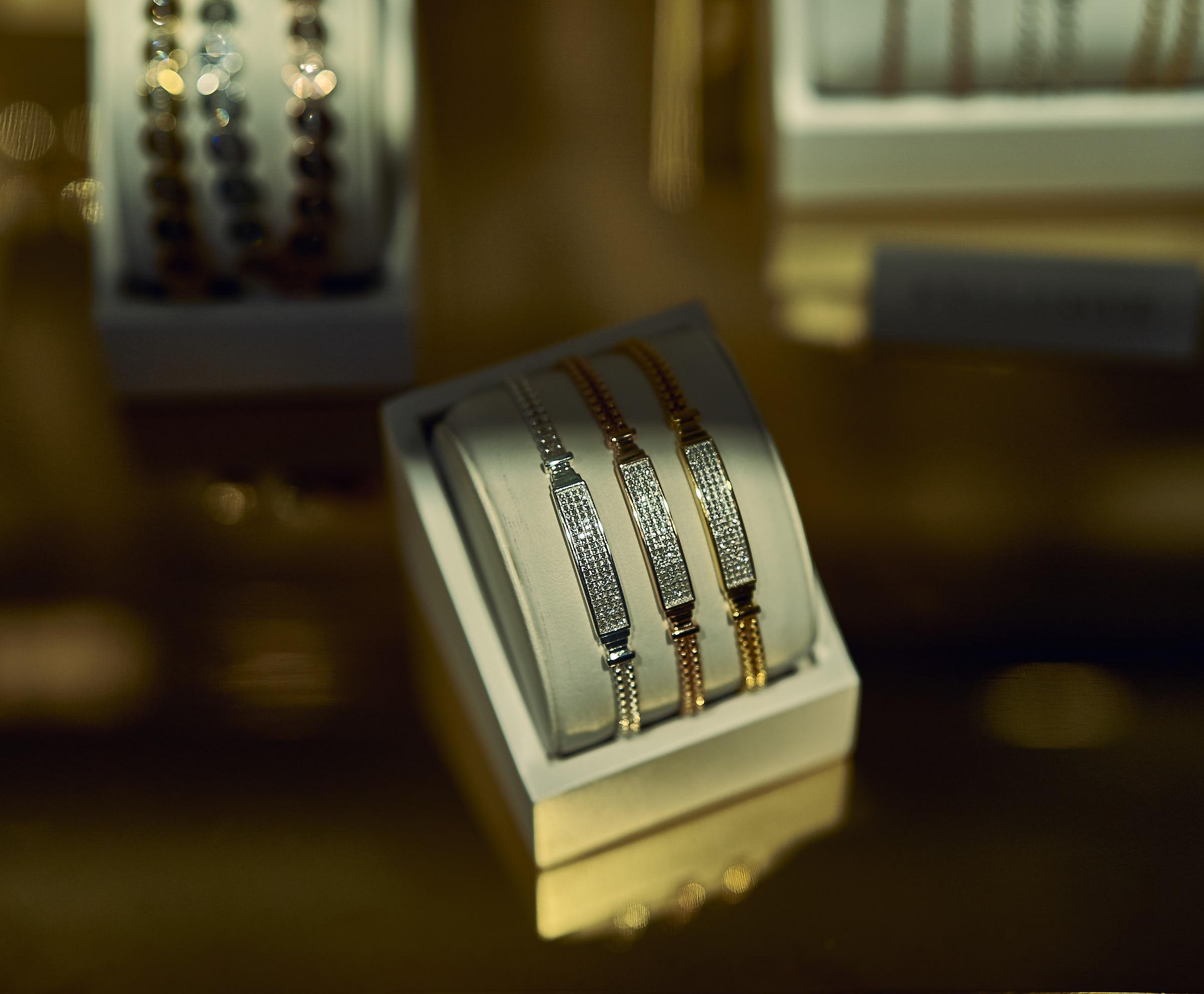 High End Luxury Jewellery Bracelet Picture Monica Vinader