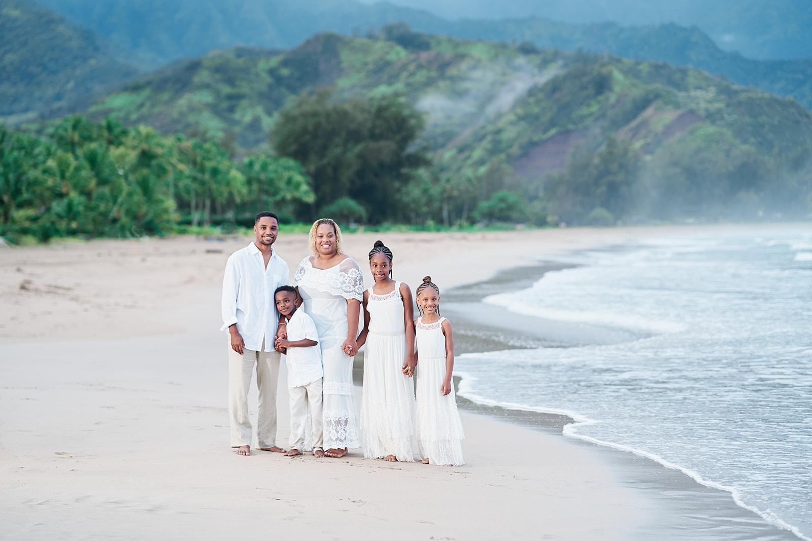 Family Photos Kauai Hanalei