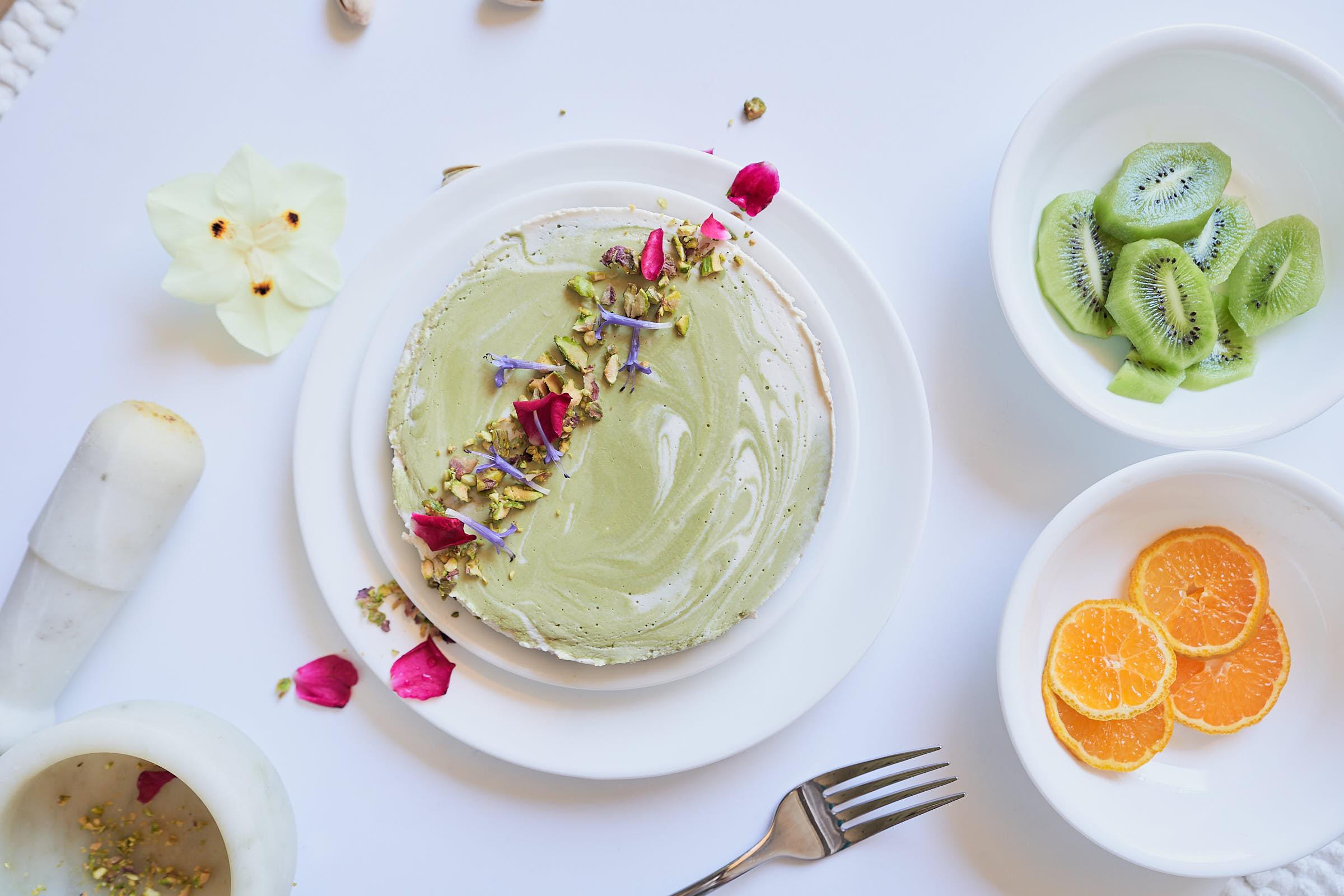 Pistachio Marble Cake Dessert Picture Afewgoodclicks