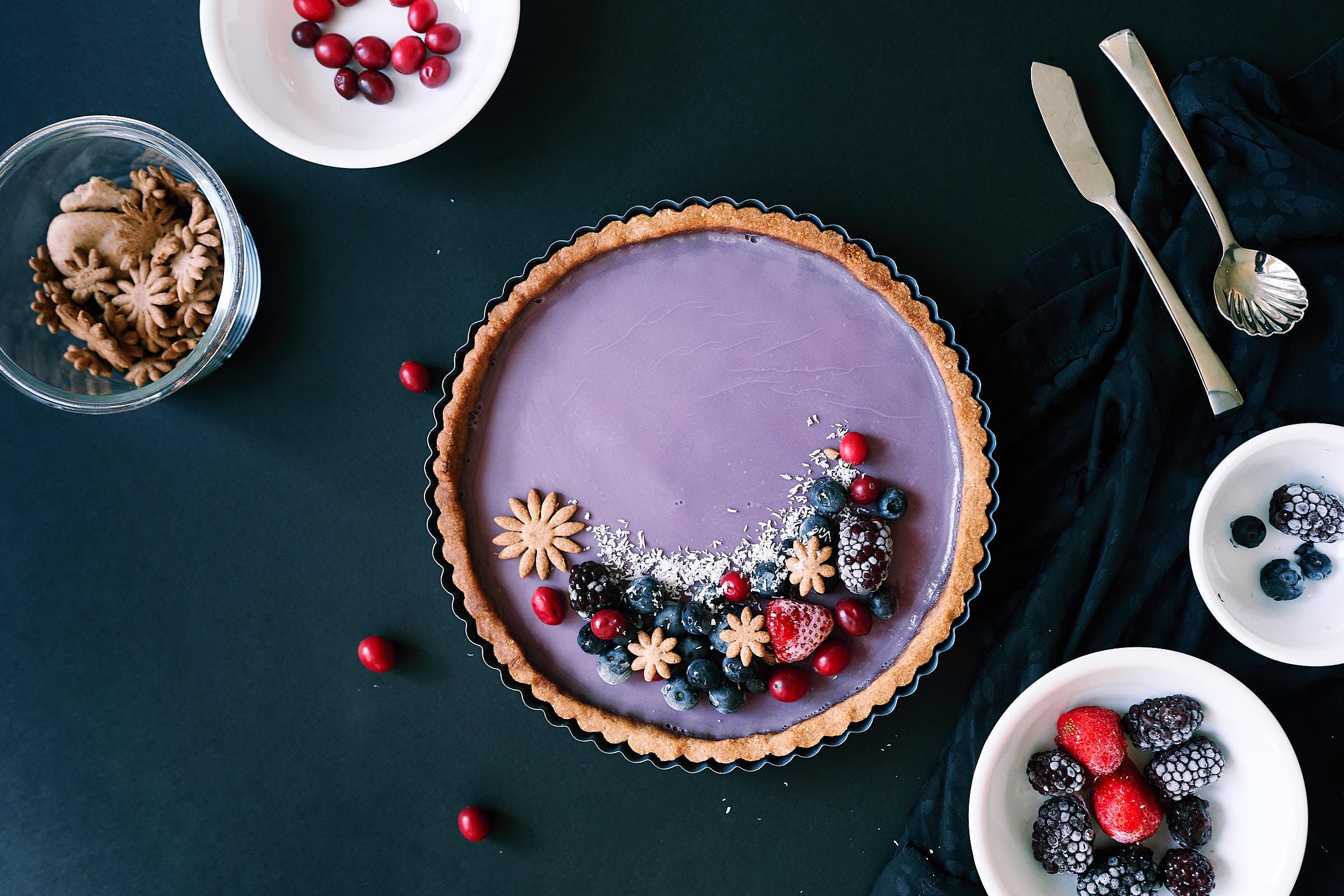 Lavender Tart Black Moody Photo Afewgoodclicks