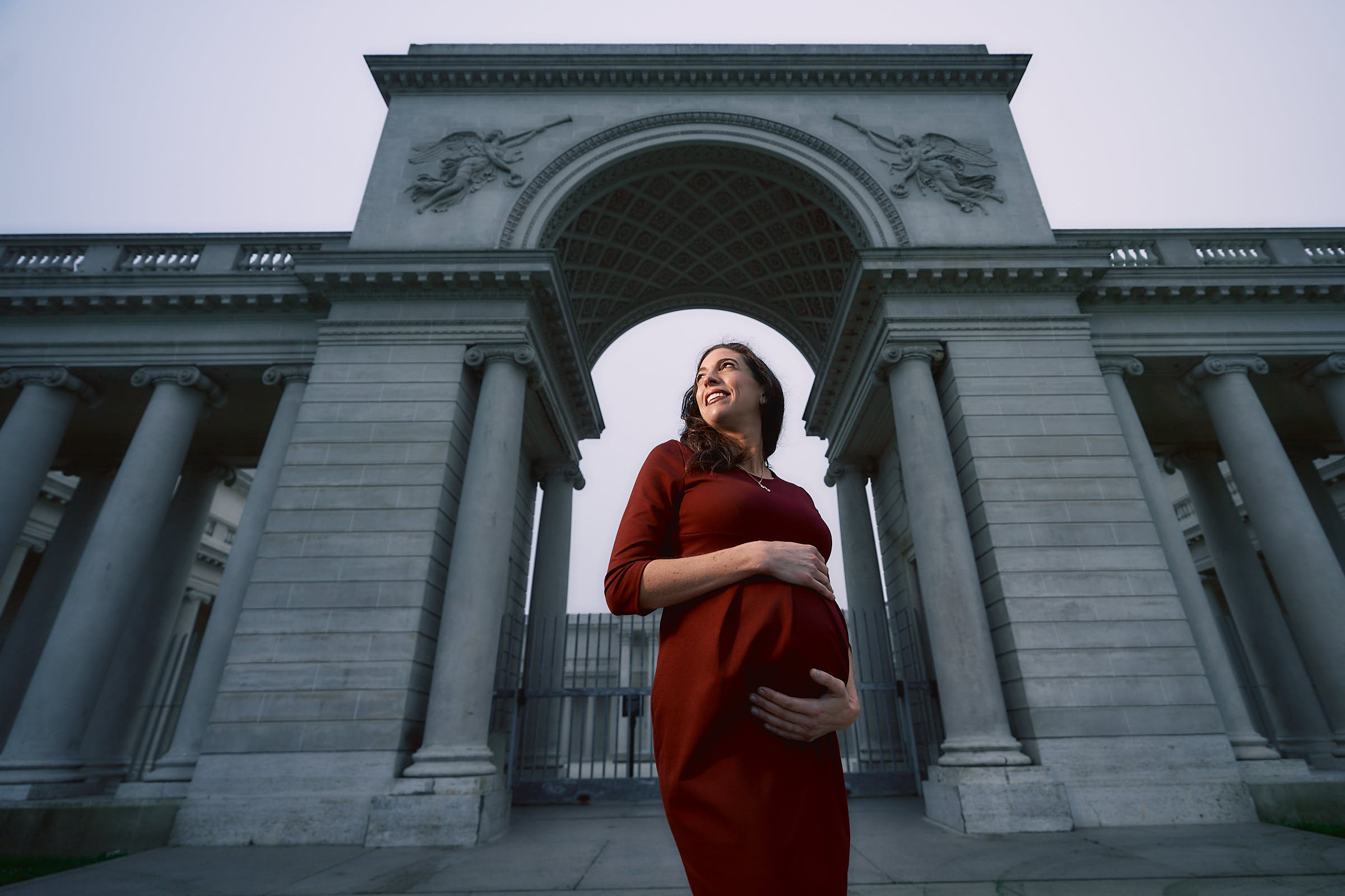 Epic Maternity Pictures Legion Of Honor San Francisco