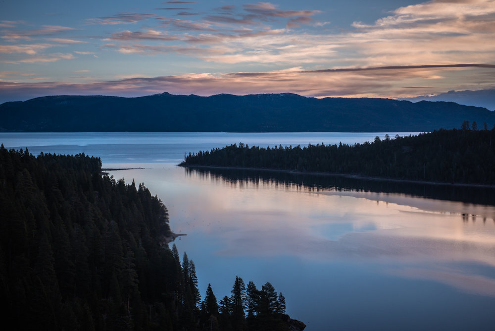 Emerald Bay Lake Tahoe Picture Sunrise