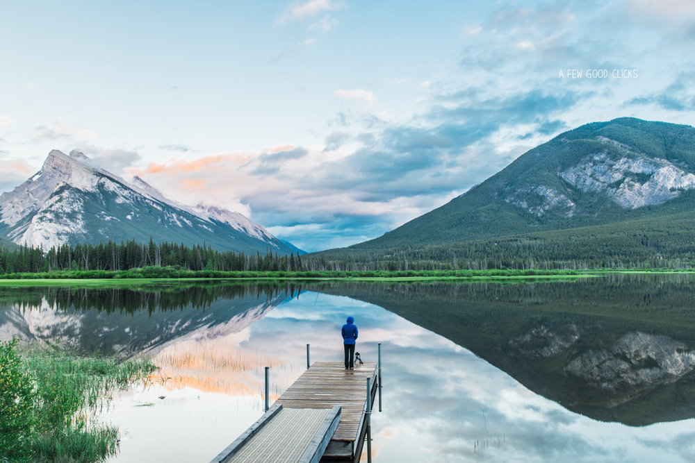 Banff National Park Canada During Summer Sunset By Afewgoodclicks