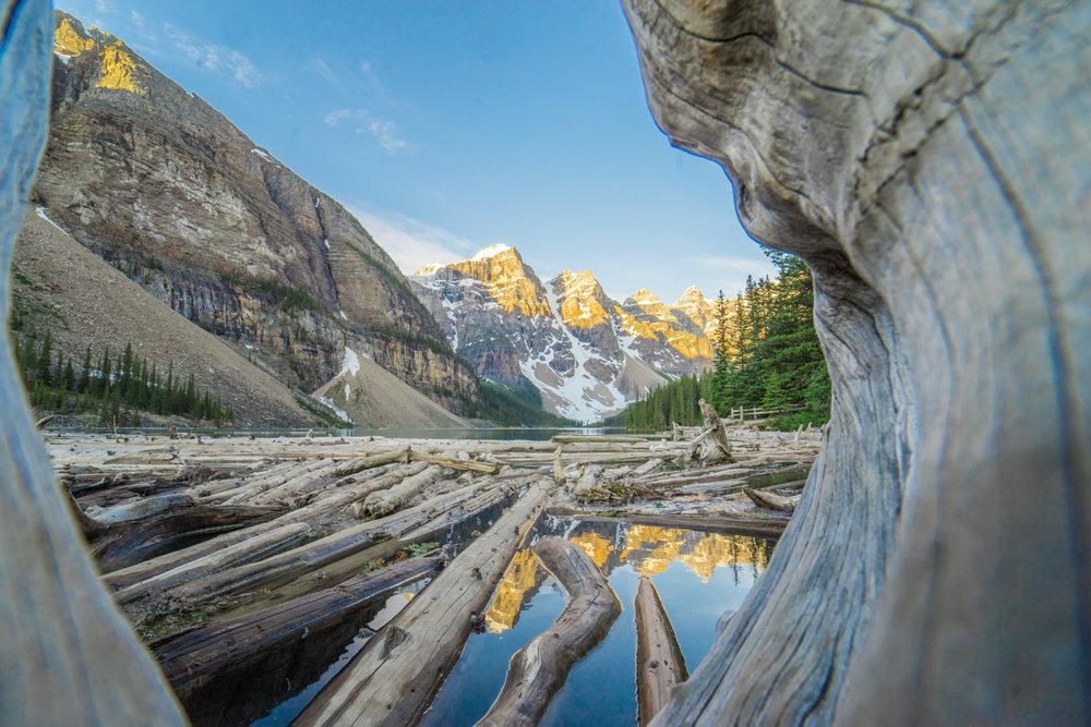 Moraine Lake Sunrise Photoshoot Afewgoodclicks