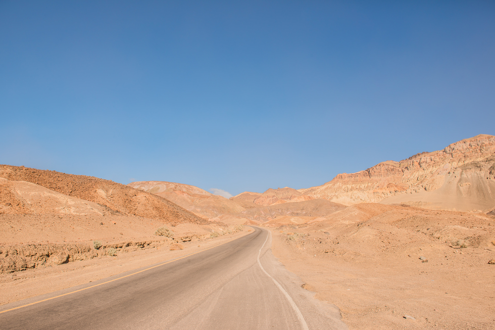 Blue Sky Grand Canyon Route Utah