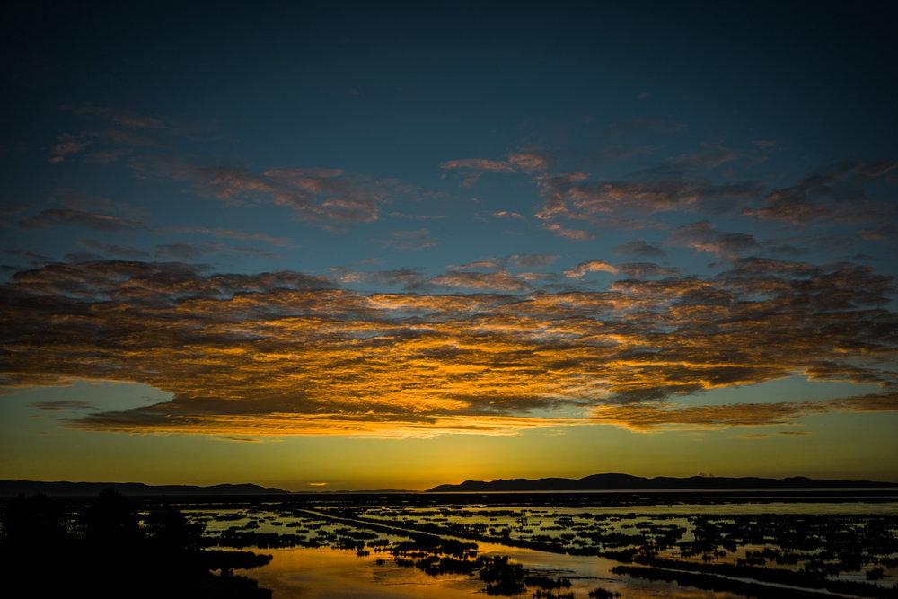 Sunrise Over Lake Titicaca From Hotel Liberatador Peru