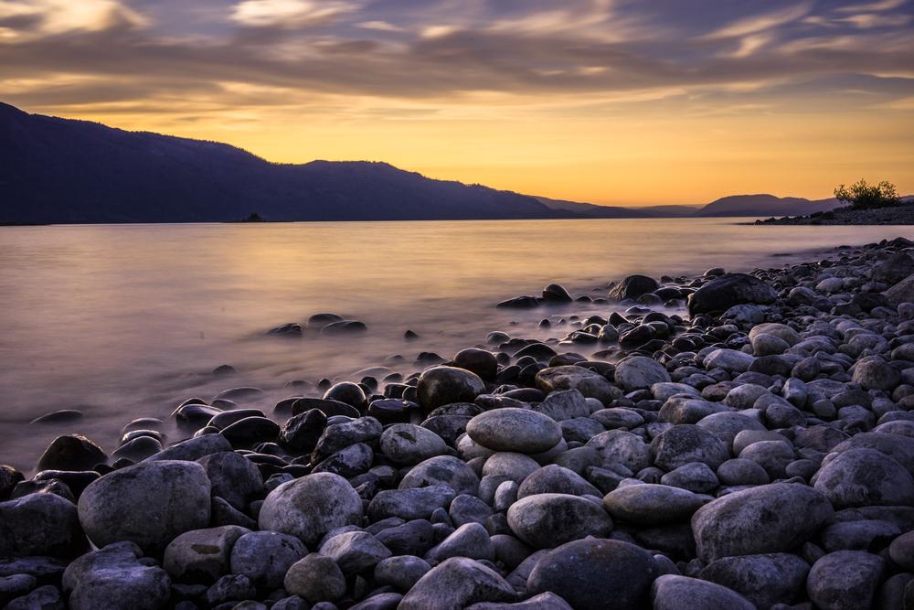 Sunrise Picture Colter Bay Grand Teton National Park Usa