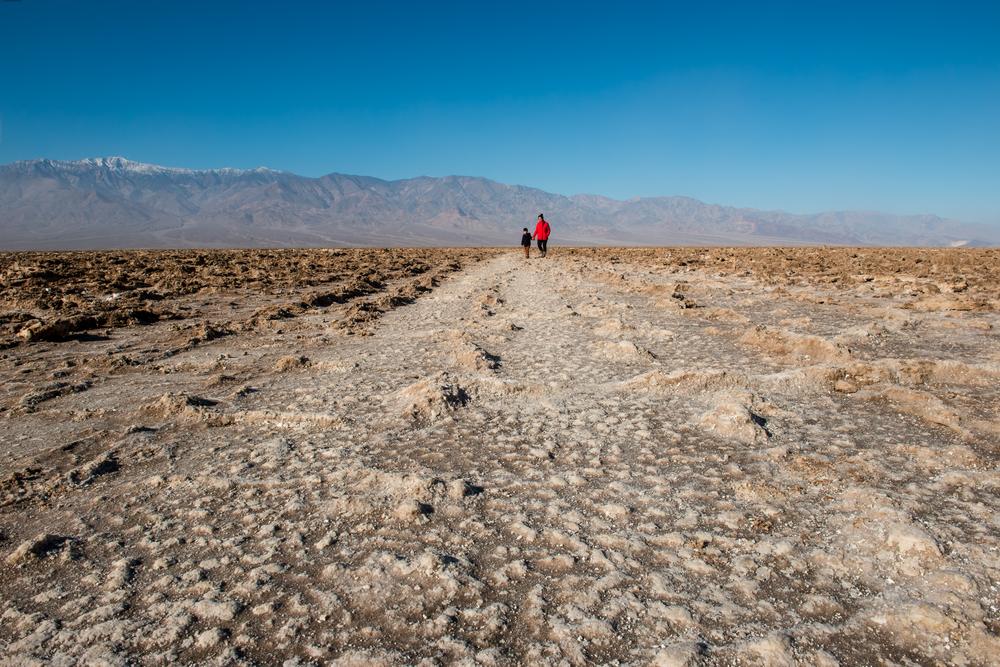 Badwater Basin Death Valley National Park Utah